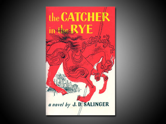 the author of j d salinger in the catcher in the rye