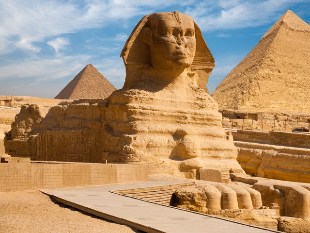 What is The Great Sphinx actually made up of?