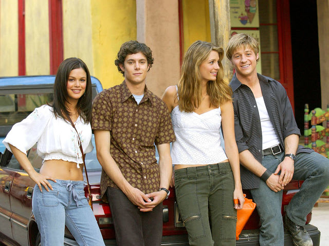 "The O.C.: ""California here we come / Right back where we ___ from"""