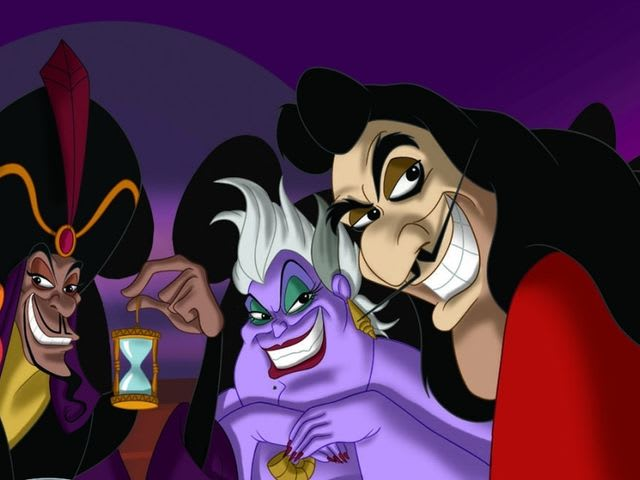 Between Jafar, Ursula, and Captain Hook, who would you F?