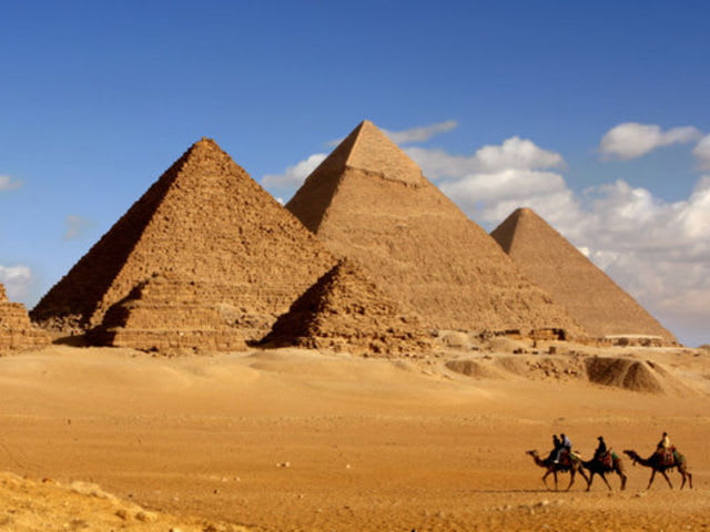 On which continent will you find Egypt?