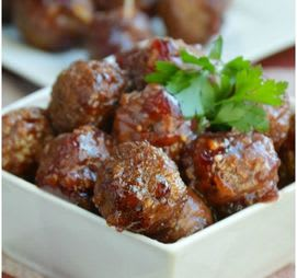 Cranberry Orange Meatballs