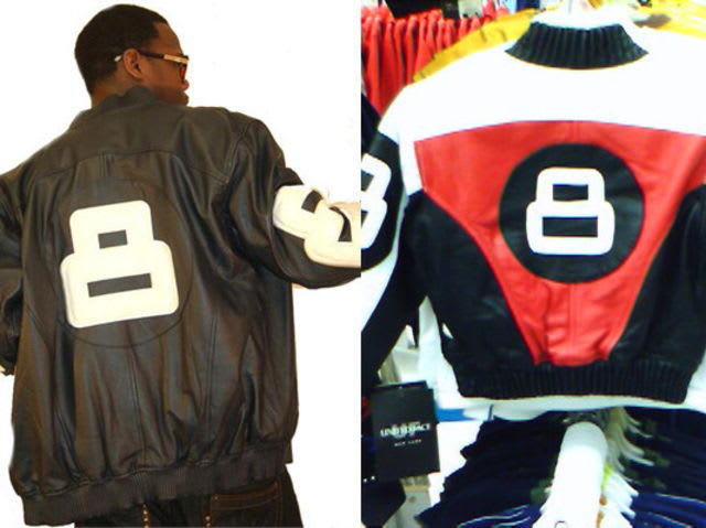 Identify this popular 90's leather jacket: