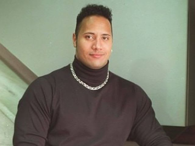 What is the rock wearing?