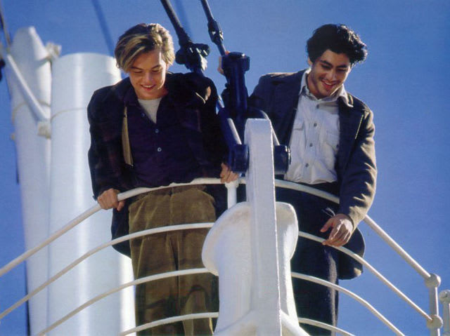 Why did Jack and Fabrizio have tickets for the Titanic?
