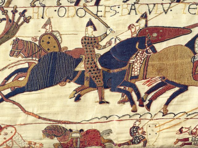 Which of these four works does NOT cover the Norman Invasion of England in 1066?