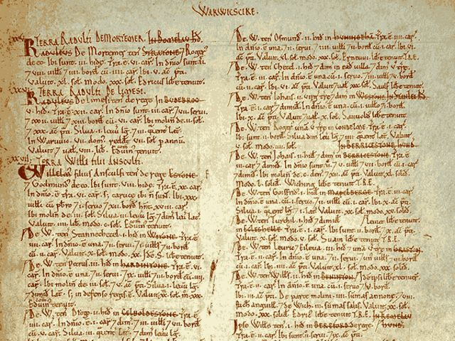 What is the Domesday Book?