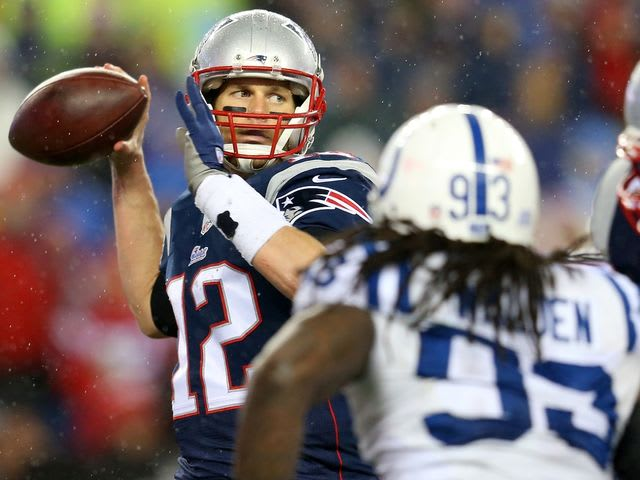 This season featured the now infamous Deflategate game in the AFC Championship: