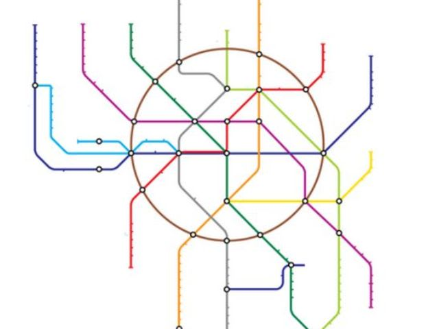 Game Can You Name The Metro System From A Blank Map CityMetric - Blank map