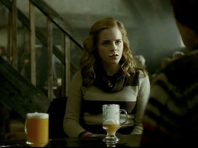 That's good old butterbeer!
