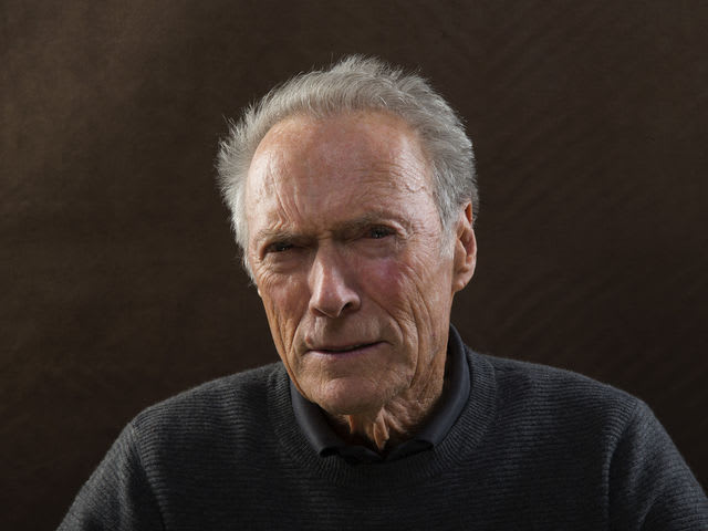 It's Hollywood actor/director Clint Eastwood! Eastwood was drafted into the Army during the Korean War.