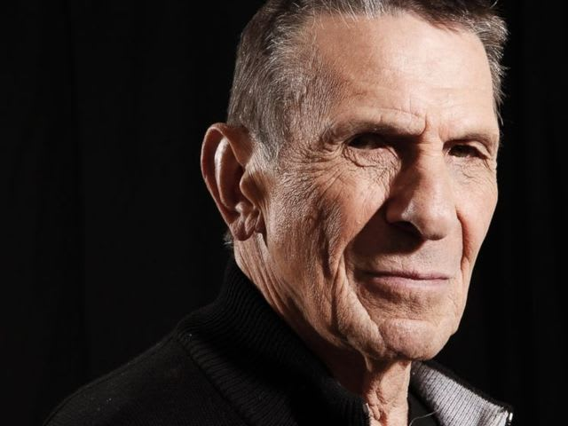 It's Spock, I mean, actor Leonard Nimoy! He served in the US Army.