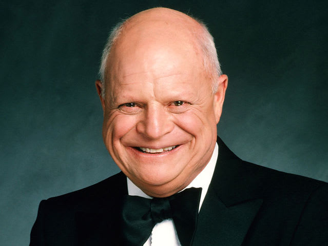 It's comedian Don Rickles! He served in the Navy during World War II.