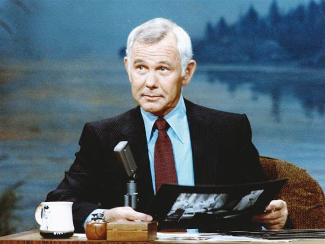 "It's legendary ""Tonight Show"" host Johnny Carson! He served in the Navy."