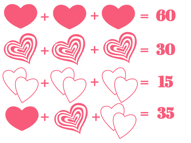 These Valentine\'s Day Math Puzzles Are Guaranteed To Baffle Even ...