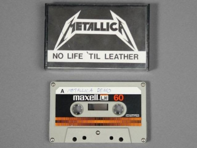 What Record Label was Metallica originally under?