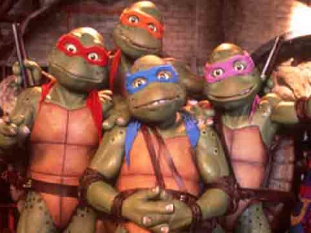 True or False?The Teenage Mutant Ninja Turtles once made a cameo on an episode of Power Rangers.