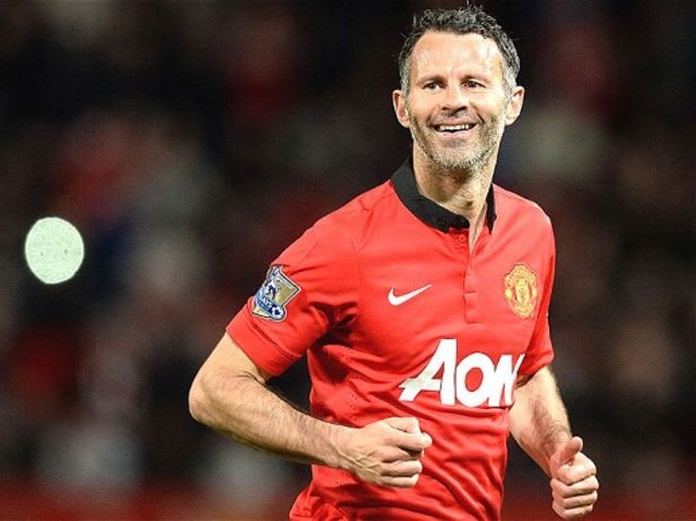 With 632 PL appearances, Giggs is not only United's record holder but also of the entire league
