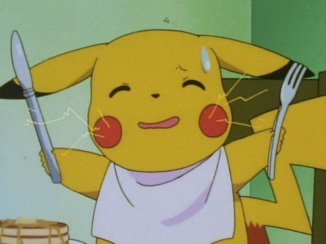 Which is Pikachu's favorite food?