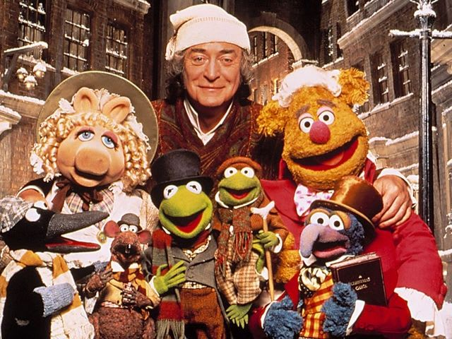 "Michael Caine starred in ""A Muppet Christmas Carol""!"