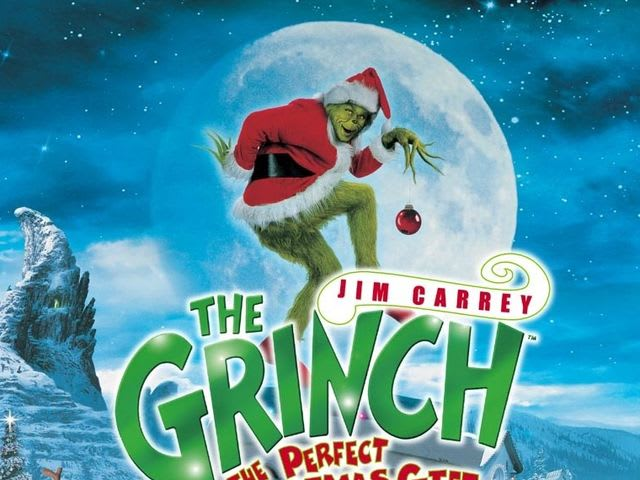"Jim Carrey starred in ""How The Grinch Stole Christmas""!"