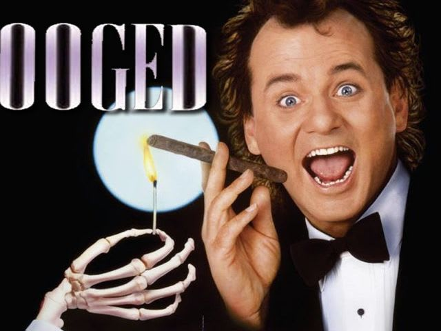 "Bill Murray starred in ""Scrooged""!"
