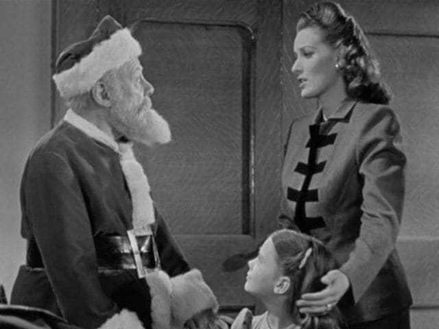 "Maureen O'Hara starred in the 1947 movie ""Miracle on 34th Street""!"
