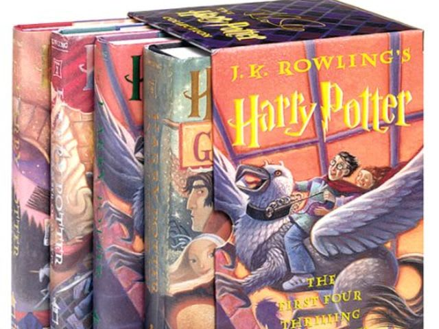 Four! The books were out through Goblet of Fire.