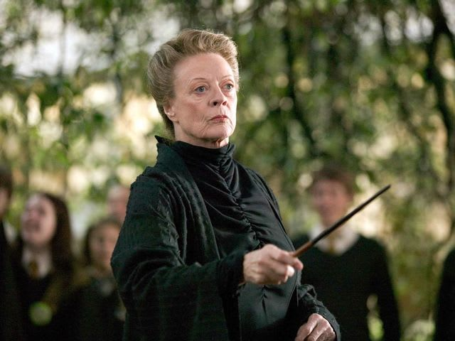 Maggie Smith! The others were nominated, but never won.