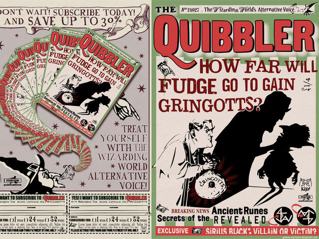 Which of these isn't a Quibbler article?