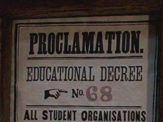 In the books, what was Educational Decree Number Twenty-Six?