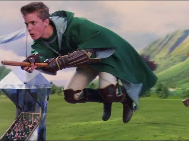 Which of these is the only real Quidditch Foul?