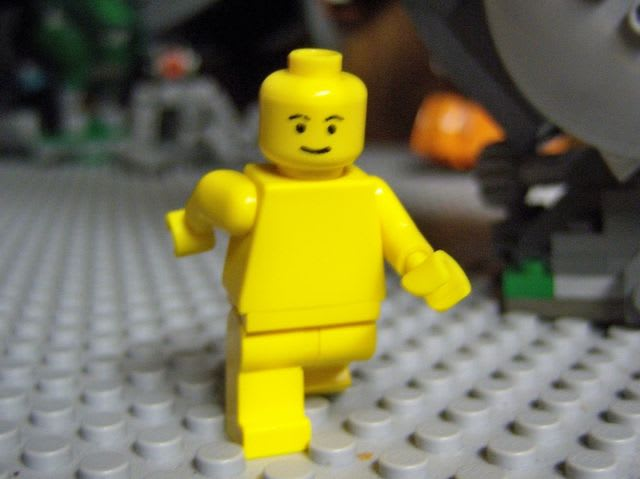 "The warning continues: ""But, because the character is made of Lego, he has no genitalia"". JEEZ"