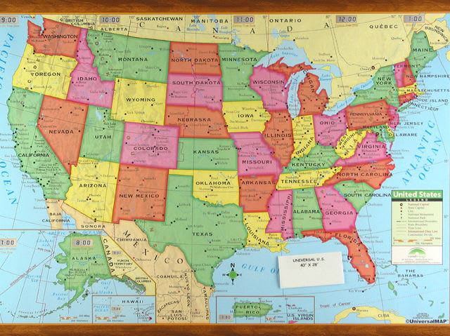 Do You Really Know Your US Geography QUIZ - Map of us geography