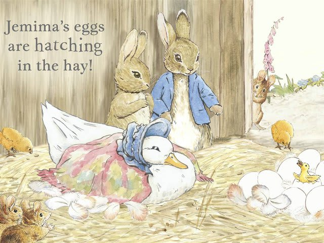 Potter wrote and illustrated more than 20 children's books based on the characters of Peter Rabbit, Jemima Puddle-Duck, Benjamin Bunny and others