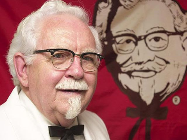 The Kentucky Fried Chicken Colonel died on this day in 1980 at the age of 90. What was his name?