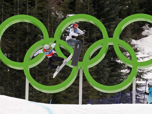 Which of these is not a current Olympic snowboarding event?