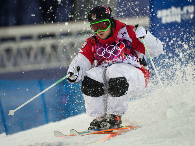 A skier's turns account for 60% of their final score, while air and speed each only make up 20%.