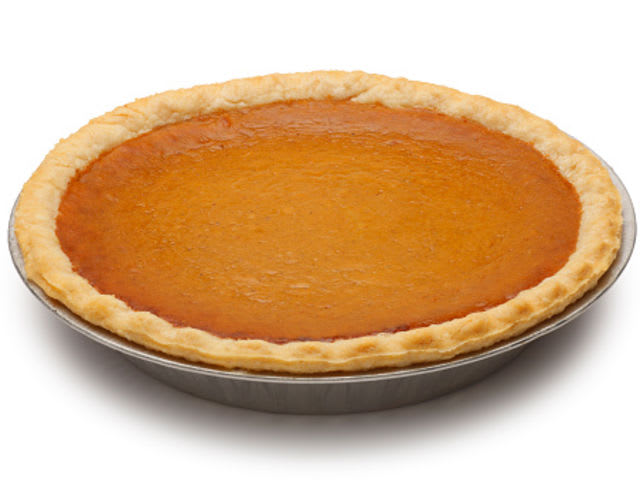 What fall holiday involves eating lots of pumpkin pie?