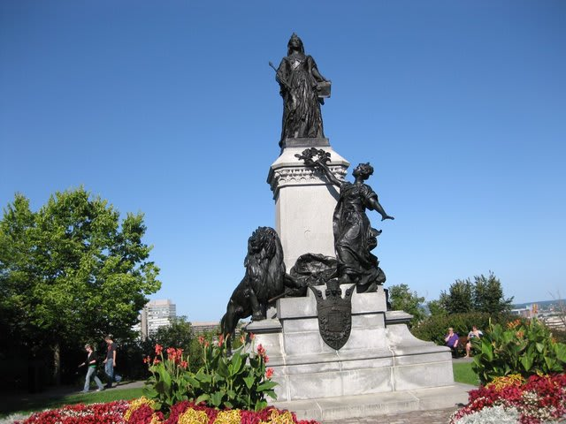 Queen Victoria was queen of Great Britain from 1837 to 1901. This is the Queen Victoria Statue on Parliament Hill Ottawa