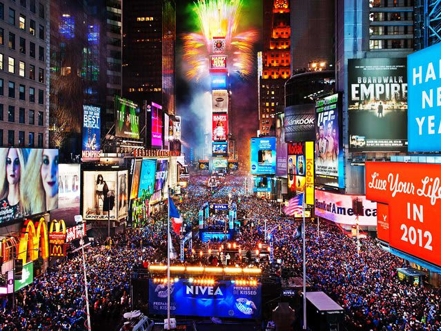 The first New Year's Eve celebration in Times Square, New York was held in...