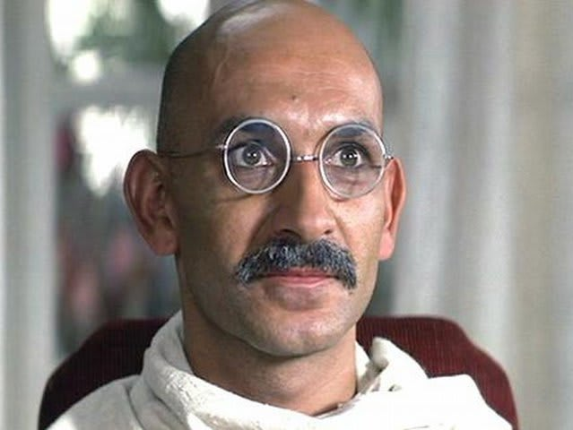 Kingsley won an Academy award for 1981's Gandhi, but Hopkins was also born today (in 1937)