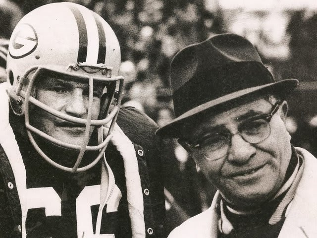 Vince Lombardi led the Packers to five championships, the one in 1967 being in -13 degree weather with a wind chill as low as -37 degrees