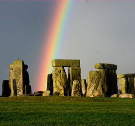 Stonehenge on the summer solstice