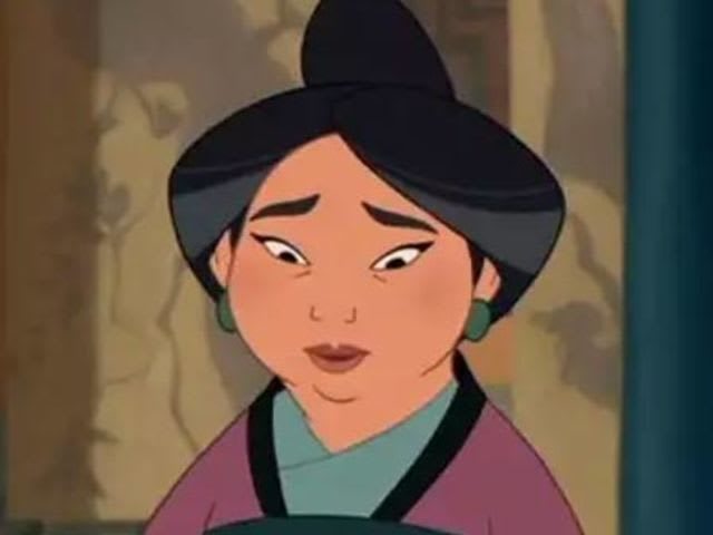 Mulan's lovely mother's name is...
