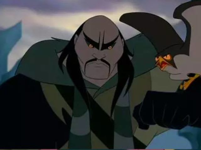 This lovable fellow from Mulan is...