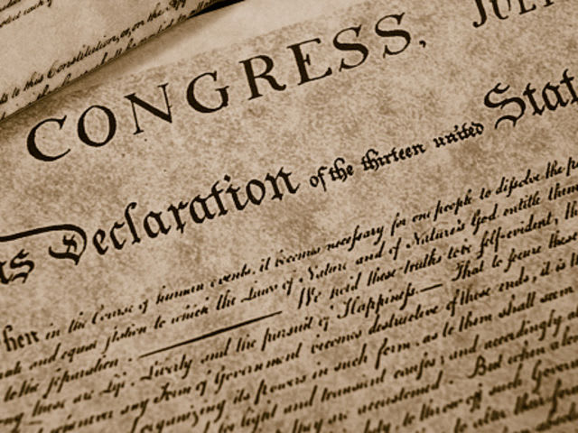 In what year was the signing of the Declaration of Independence?