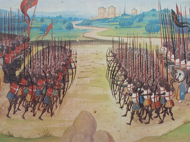 Answer: The Battle of Agincourt!