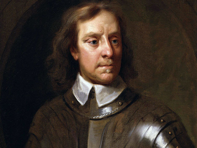 Answer: Oliver Cromwell during the royal interregnum catalyzed by the English Civil War!