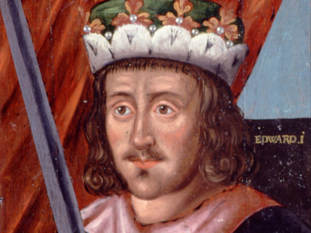 In what year did Edward I conquer and annex Wales?